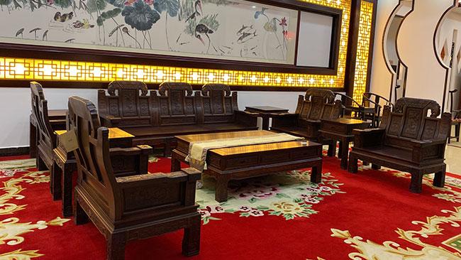 广西陆先生定制红木家具案例