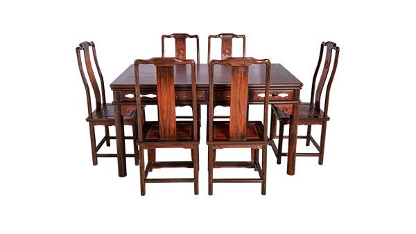 大红酸枝 长方桌