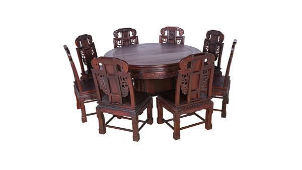 大红酸枝 餐桌